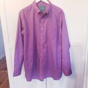 Southern Tides large mens button dress shirt